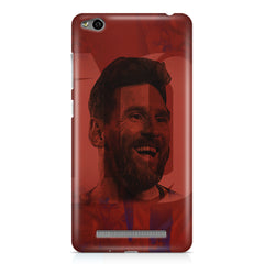 Messi jersey 10 blended design Xiaomi Redmi 3s hard plastic printed back cover