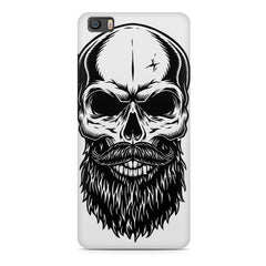 Skull with the beard  design,  Xiaomi Mi5c  printed back cover