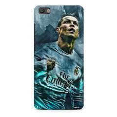 Oil painted ronaldo  design,  Xiaomi Mi5c  printed back cover