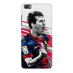 Messi illustration design,  Xiaomi Mi5c  printed back cover