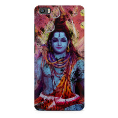 Shiva painted design Xiaomi Mi5c  printed back cover