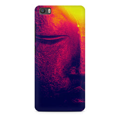 Half red face sculpture  Xiaomi Mi5c  printed back cover
