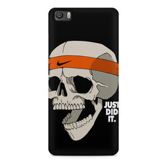 Skull Funny Just Did It !  design,  Xiaomi Mi5c  printed back cover