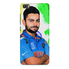 Virat Kohli Oil Painting India design,  Xiaomi Mi5c  printed back cover