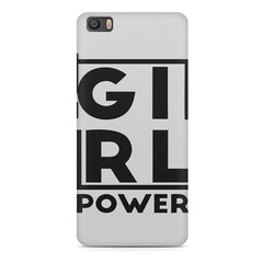 Girl power deisgn Xiaomi Mi5c  printed back cover