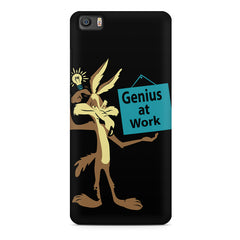 Genius at work design Xiaomi Mi5c  printed back cover