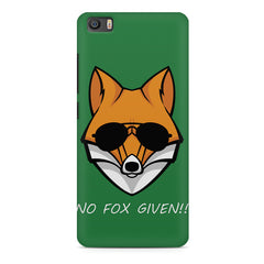 No fox given design Xiaomi Mi5c  printed back cover