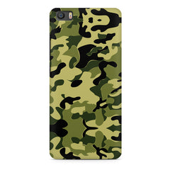 Camoflauge army color design Xiaomi Mi5c  printed back cover