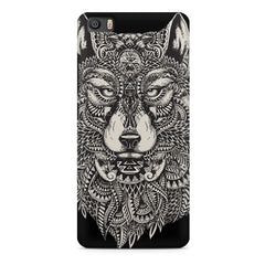 Fox illustration design Xiaomi Mi5c  printed back cover