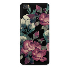 Abstract colorful flower design Xiaomi Mi5c  printed back cover