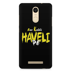 Aao kabhi haveli pe  design,  Xiaomi Redmi Note 3  printed back cover