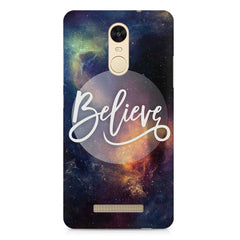 Believe in yourself Xiaomi Redmi Note 3  printed back cover