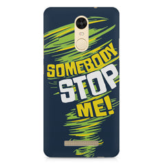 Be Unstoppable design Xiaomi Redmi Note 3  printed back cover