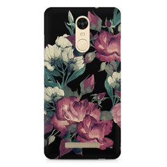 Abstract colorful flower design Xiaomi Redmi Note 3  printed back cover