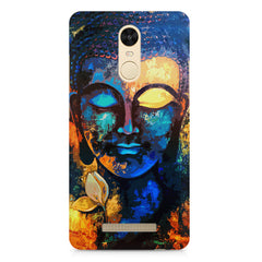 Beautiful Buddha abstract painting full of colors design  Xiaomi Redmi Note 3 hard plastic printed back cover