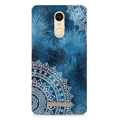 A Vivid Blue ethnic yet cool pattern Xiaomi Redmi Note 3 hard plastic printed back cover