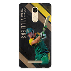 Ab De Villiers the Batting pose    Xiaomi Redmi Note 3 hard plastic printed back cover