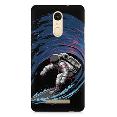 Astronaut space surfing design    Xiaomi Redmi Note 3 hard plastic printed back cover