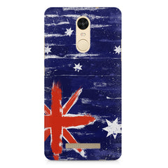 Australian flag design    Xiaomi Redmi Note 3 hard plastic printed back cover