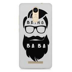Being BaBa Design Xiaomi Redmi Note 3 hard plastic printed back cover