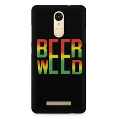Beer Weed Xiaomi Redmi Note 3 hard plastic printed back cover