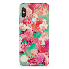 Floral  design,  Xiaomi 6 Pro hard plastic printed back cover