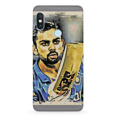 Virat Kohli  design,   Xiaomi Redmi note 5 pro hard plastic printed back cover.
