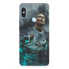 Oil painted ronaldo  design,  Xiaomi 6 Pro hard plastic printed back cover