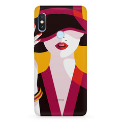 Classy girl  design,   Xiaomi MI A2, 20 girly cases hard plastic printed back cover.