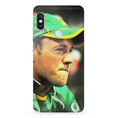 AB de Villiers South Africa  Xiaomi 6 Pro hard plastic printed back cover