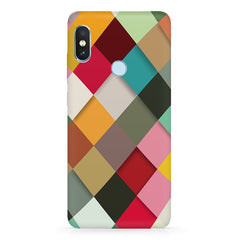 Graphic Design diamonds    Xiaomi MI A2, 20 girly cases hard plastic printed back cover.
