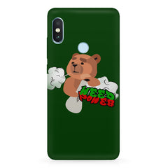 Weed power  Xiaomi 6 Pro hard plastic printed back cover