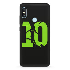 Lionel Messi 10 Playing  design,   Xiaomi MI A2 hard plastic printed back cover.