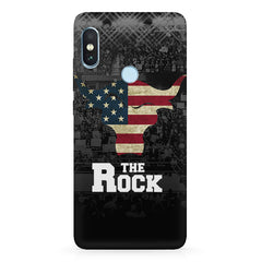 The Rock  design,   Xiaomi MI A2, 20 girly cases hard plastic printed back cover.