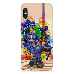 Zlatan Ibrahimovic Famous Footballer design,  Xiaomi 6 Pro hard plastic printed back cover