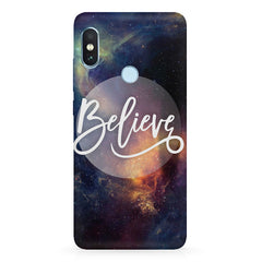 Believe in yourself  Xiaomi MI A2, 20 motivational cases hard plastic printed back cover.