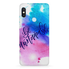 Motivational quotes design  Xiaomi MI A2, 20 motivational cases hard plastic printed back cover.