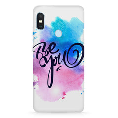 Be yourself design  Xiaomi MI A2, 20 motivational cases hard plastic printed back cover.