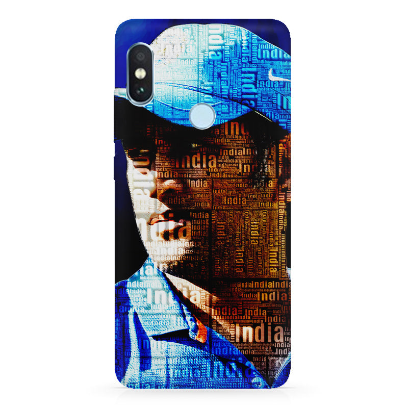 new concept 16b53 2cd7c M.S. Dhoni design Xiaomi Redmi Y2 hard plastic printed back cover.