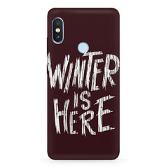 Winter is here Game of Thrones design Xiaomi 6 Pro hard plastic printed back cover