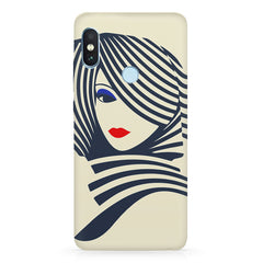 Fashionable girly design  Xiaomi MI A2, 20 girly cases hard plastic printed back cover.