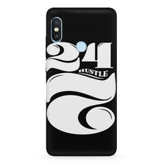 Always hustle design  Xiaomi MI A2, 20 motivational cases hard plastic printed back cover.