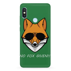 No fox given design  Xiaomi MI A2, 20 motivational cases hard plastic printed back cover.