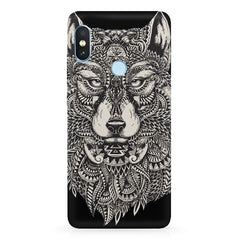 Fox illustration design  Xiaomi Redmi note 5 pro hard plastic printed back cover.