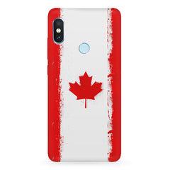 Canadian flag design Xiaomi 6 Pro hard plastic printed back cover