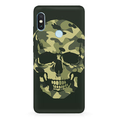 Military Skull PrintXiaomi 6 Pro hard plastic printed back cover
