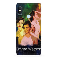 Emma Watson collage design Xiaomi 6 Pro hard plastic printed back cover