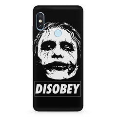 Joker disobey design Xiaomi 6 Pro hard plastic printed back cover