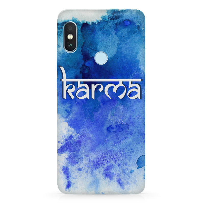 pretty nice 17df9 3960d Karma Xiaomi Redmi note 5 pro hard plastic printed back cover.