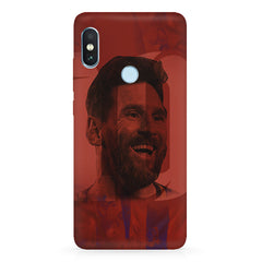 Messi jersey 10 blended design Xiaomi 6 Pro hard plastic printed back cover